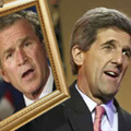 Kerry Once Again Reminds Voters He's Not Bush